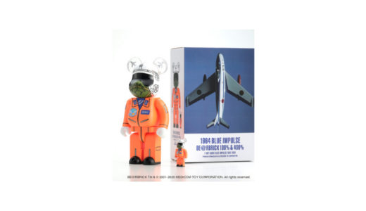 1964 BLUE IMPULSE BE@RBRICK 100% & 400%【数量限定】
